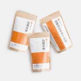 坪林包種茶牛軋糖5入(夏威夷豆茶牛軋糖1包、茶糖2包、茶酥2包)