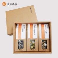 【曼蒂媽咪專屬禮盒】綠茶牛軋糖、紅茶牛軋糖、茉香綠茶包