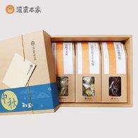 【中秋禮盒】包種茶花生牛軋糖、蔓越莓乾、鐵觀音茶酥