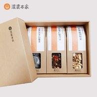【無糖禮盒】綜合乾果豆、原味堅果、清香烏龍茶包