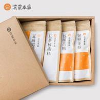 清香茶糖禮盒(茶糖、茶酥、夏威夷豆茶牛軋糖、紅茶核桃糕)